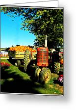 The Pumpkins Have Arrived Greeting Card