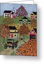 The Pumpkin Barn Greeting Card