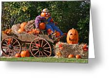 The Pumpkin Farmer Greeting Card