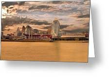 The Queen City Cincinnati Greeting Card