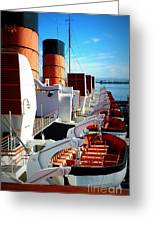 The Queen Mary  Greeting Card