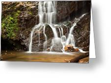The Quiet Waterfall Greeting Card