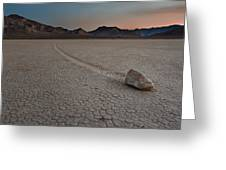 The Racetrack At Death Valley National Park Greeting Card