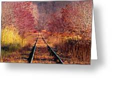 The Railroad Greeting Card
