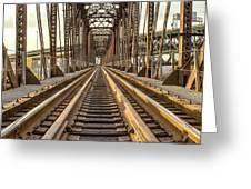 The Rails II Greeting Card