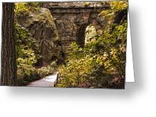 The Ramble Stone Arch Greeting Card