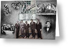 The Rat Pack Greeting Card
