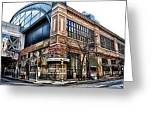 The Reading Terminal Market Greeting Card by Bill Cannon
