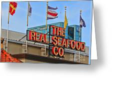 The Real Seafood Company 4201 Greeting Card
