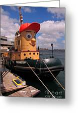 The Real Theodore Tug Boat Lives In Halifax Greeting Card