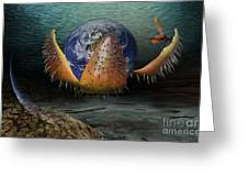 The Rebirth Of The Earth Greeting Card
