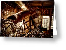 The Red Barn Of The Boeing Company II Greeting Card