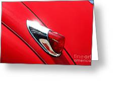 The Red Jag Greeting Card