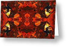The Red Light Greeting Card