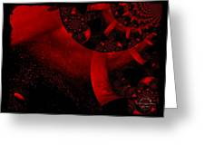 The Red Planet Cometh Greeting Card