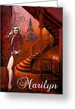 The Red Stair Greeting Card
