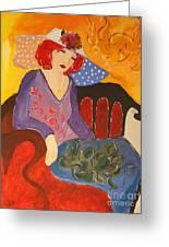 The Redhead Greeting Card