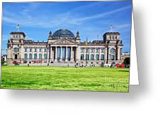 The Reichstag Building Berlin Germany Greeting Card