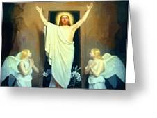 The Resurrection Of Christ By Carl Heinrich Bloch  Greeting Card