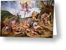 The Resurrection Of Christ, Florentine School, 1560 Greeting Card