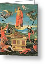 The Resurrrection Of Christ Greeting Card by Raphael