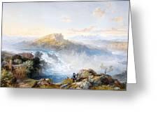 The Rhine Falls At Schaffhausen Greeting Card