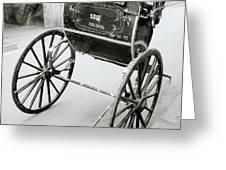 The Rickshaw Greeting Card