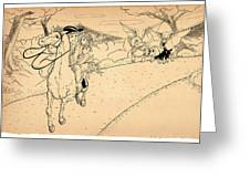 The Ride Of Paul Revere Greeting Card