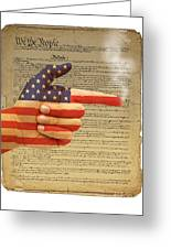 The Right To Bear Arms-4 Greeting Card