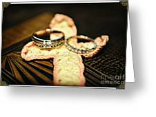 The Rings Greeting Card