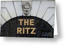 The Ritz London Greeting Card