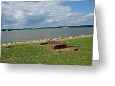 The River At Jamestown Greeting Card