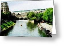 The River Avon Greeting Card