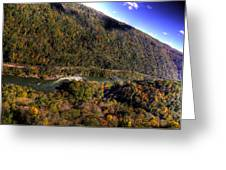 The River Below Greeting Card