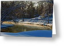 The River Bend Greeting Card