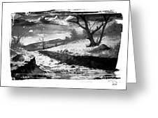 The River Greeting Card