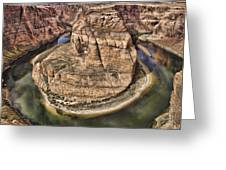 The River Did It Greeting Card by Heather Applegate