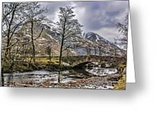 The River From Brothers Water Greeting Card