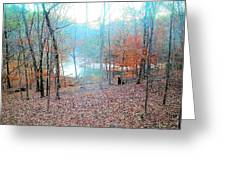 The River In The Forest Greeting Card