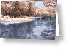 The River - Near Infrared Greeting Card