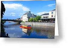 The River Nore Greeting Card