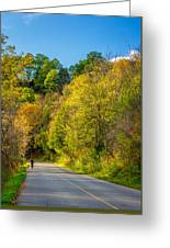 The River Road Greeting Card