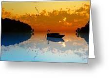 The Riverboat... Greeting Card