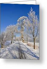The Road Greeting Card by Aged Pixel