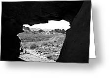 The Road Beyond Cave Greeting Card