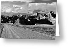 The Road From Interior Greeting Card