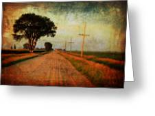 The Road Home Greeting Card by Julie Hamilton