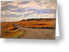 The Road Less Traveled Greeting Card
