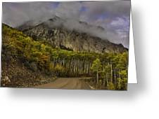 The Road To Glory Greeting Card