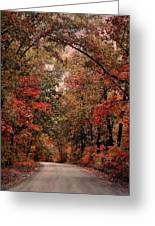 The Road To Home Greeting Card